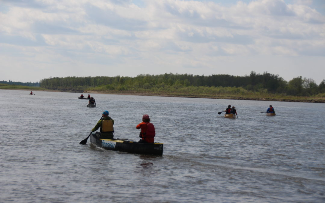 La Ronge Eagle Point Classic Marathon Canoe Race