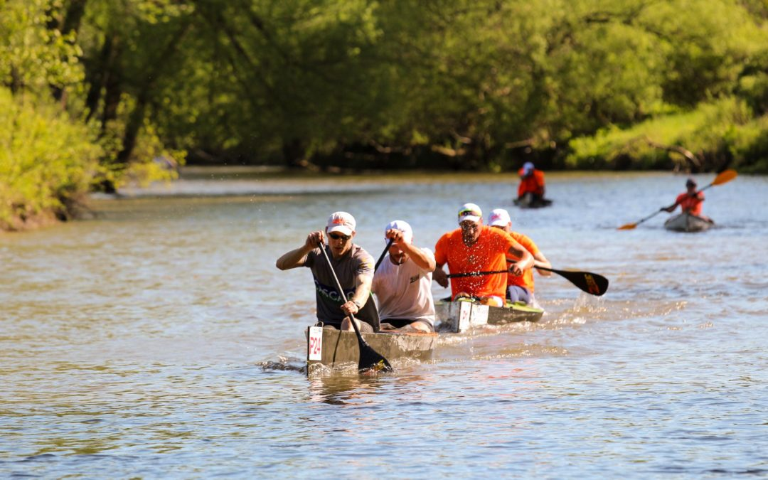 Two Saskatoon Canoe Club Marathon Division Members achieve Athletic Excellence at General Clinton Canoe Regatta
