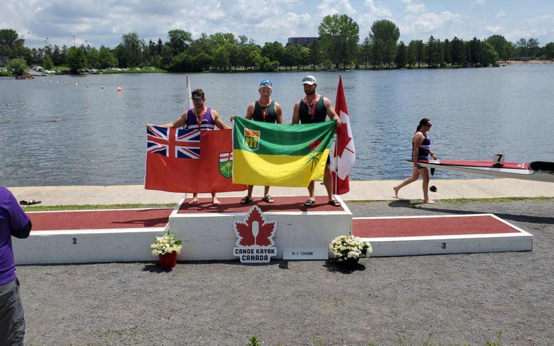 Canoe Kayak Saskatchewan Athletes Pick up Hardware at Canada Day Regatta!