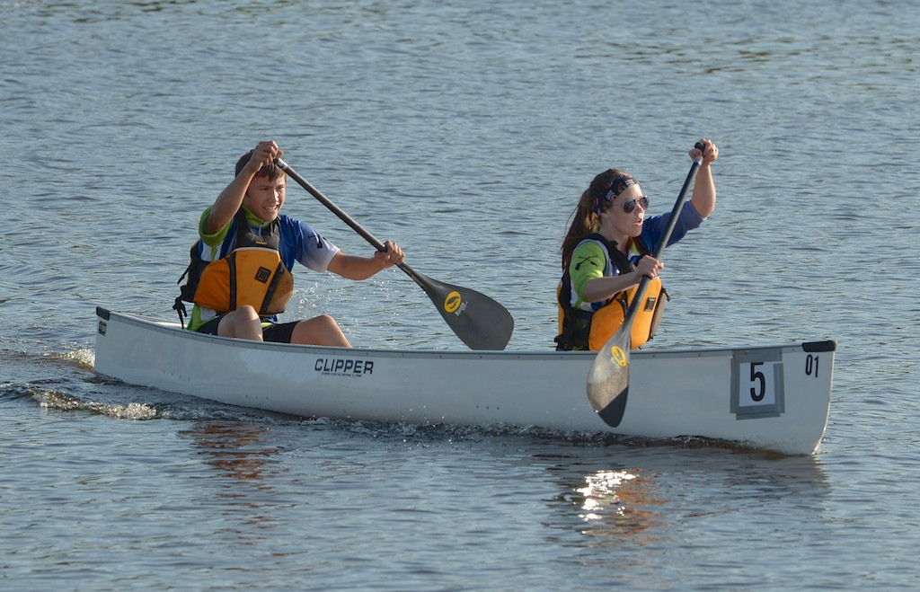 Woodland places First in Marathon Canoeing at Tony Cote Summer Games