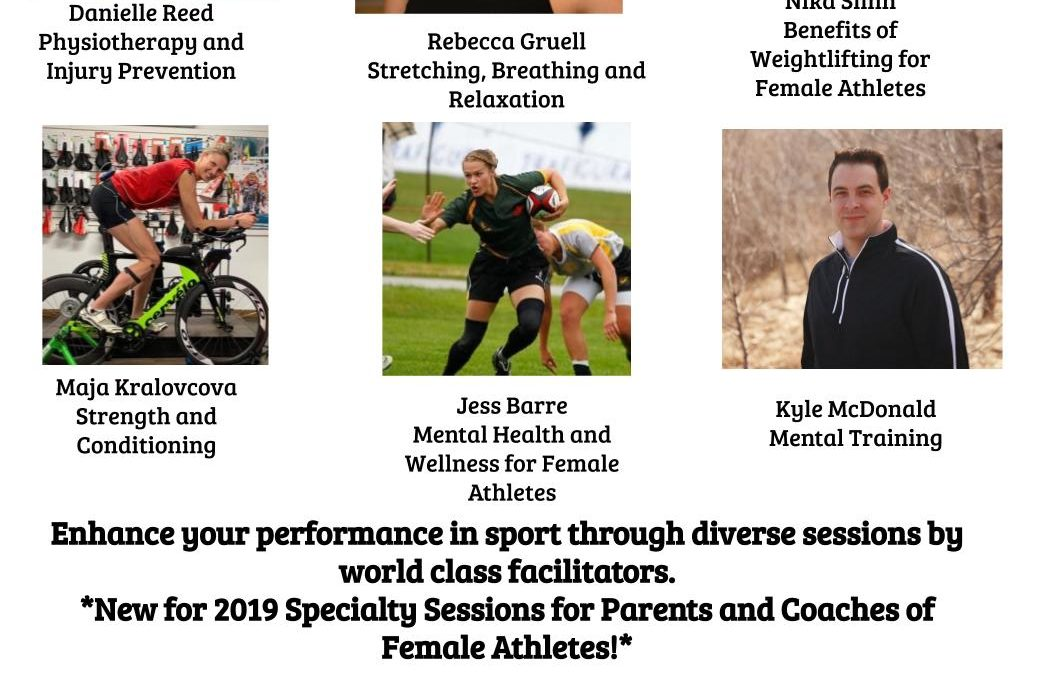 2019 Aspire, Perspire, Inspire – A Health, Wellness and Self-Esteem Conference for Female Athletes and their Coaches