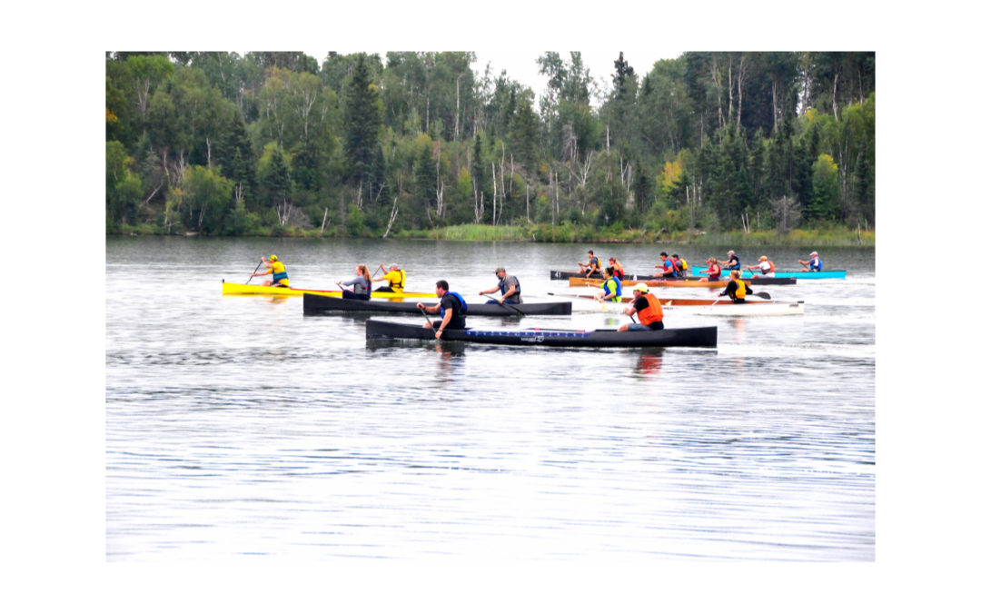 Pimiskatan-La Ronge Eagle Point Marathon Canoe Race a Huge Success!